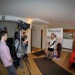 Izabela Wrońska, product manager marki Nacomi, udziela wywiadu