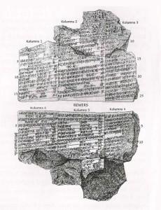 Sumeryjski opis potopu