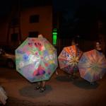 Trzy nagrodzone parasolki*