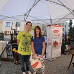 Znana warszawska blogerka Angelina Ziembińska i Kuba Załęski z IMR advertising by PR