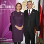 Ambasador Edgar Ghazaryan z małżonką Marianną