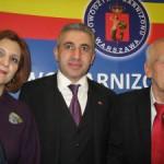 Ambasador Ghazaryan z małżonką Marianną i Kornel Morawiecki