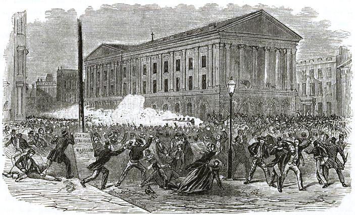 Astor Place Opera House riots 350
