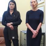Od lewej: Mehriban Samadowa i Elnara Mammadowa