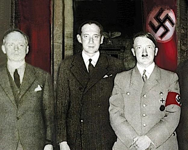 Spotkanie Józefa Becka z Adolfem Hitlerem