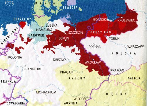 Prusy po I rozbiorze Polski