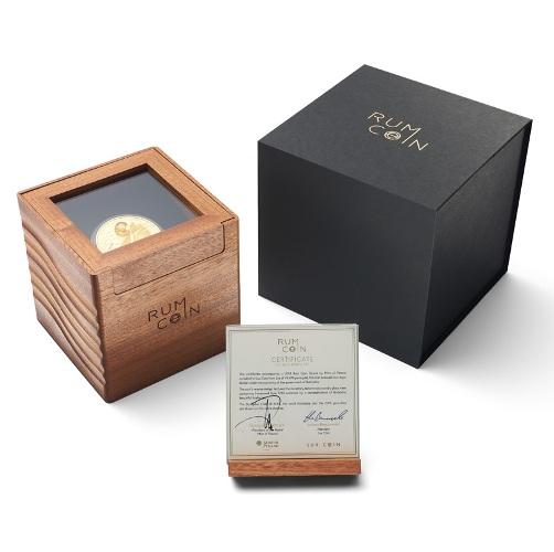 Rum coin box 500