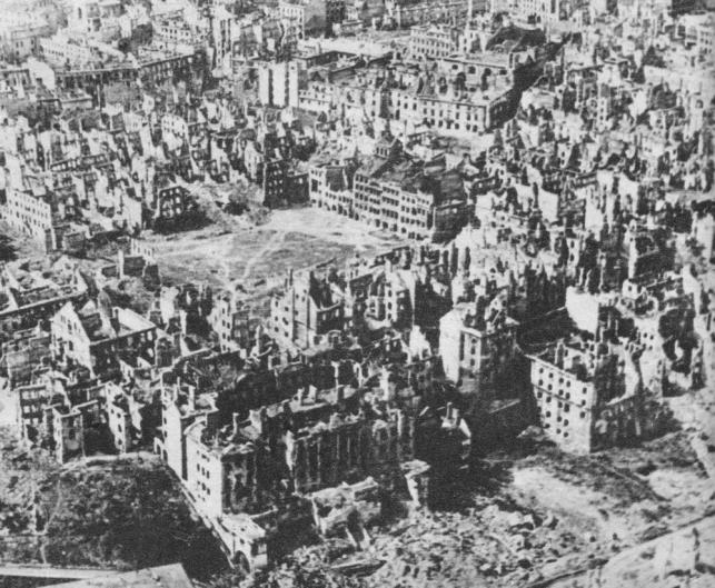 Stare Miasto, 1945 r.