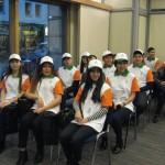 Grupa najlepszych studentów uczących się w Polsce