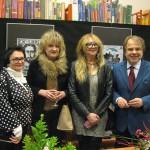 Od prawej: Ambasador Litwy, Beata Przedpełska, jej siostra, red. Jolanta Przedpełska, małżonka ambasdora Litwy Pani Ona