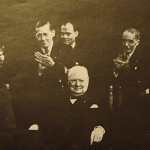 1948. Kongres Haski. Fózef Retinger (drugi z lewej)