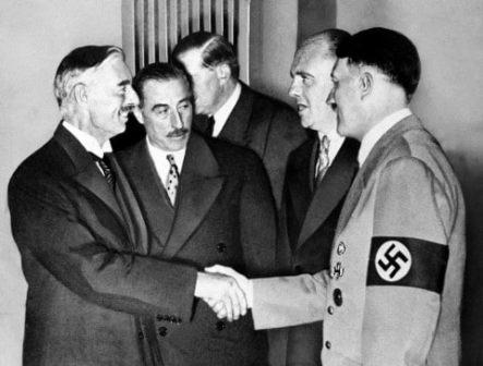 Chamberlain i Hitler