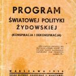 3 Program swiatowej polityki zydowskiej
