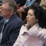Ambasador Rosji Sergiej Andrejew z Małżonką