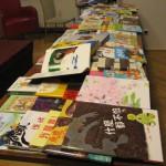 Zbiór książek tajwańskich dla biblioteki