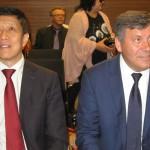 Ambasador ChRL Xu Jian i prezes Janusz Piechociński